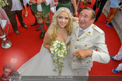 Lugner Verlobung - Casino Velden - Fr 01.08.2014 - Richard LUGNER, Spatzi Cathy SCHMITZ92