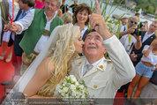 Lugner Verlobung - Casino Velden - Fr 01.08.2014 - Richard LUGNER, Spatzi Cathy SCHMITZ93