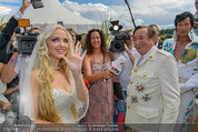 Lugner Verlobung - Casino Velden - Fr 01.08.2014 - Richard LUGNER, Spatzi Cathy SCHMITZ95