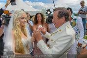 Lugner Verlobung - Casino Velden - Fr 01.08.2014 - Richard LUGNER, Spatzi Cathy SCHMITZ96