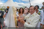 Lugner Verlobung - Casino Velden - Fr 01.08.2014 - Richard LUGNER, Spatzi Cathy SCHMITZ97