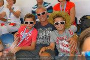 Beachvolleyball VIPs - Centrecourt Klagenfurt - Sa 02.08.2014 - Michael KONSEL mit Kinder Moritz und Valentin14