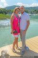 Beachvolleyball VIPs - Centrecourt Klagenfurt - Sa 02.08.2014 - Kurt MANN mit Joanna29