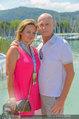 Beachvolleyball VIPs - Centrecourt Klagenfurt - Sa 02.08.2014 - Kurt MANN mit Joanna30