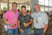 Beachvolleyball VIPs - Centrecourt Klagenfurt - Sa 02.08.2014 - HC Heinz-Christian STRACHE, Felix BAUMGARTNER, Gerhard D�RFLER33