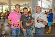 Beachvolleyball VIPs - Centrecourt Klagenfurt - Sa 02.08.2014 - HC Heinz-Christian STRACHE, Felix BAUMGARTNER, Gerhard D�RFLER34