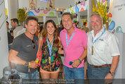 Beachvolleyball VIPs - Centrecourt Klagenfurt - Sa 02.08.2014 - HC Heinz-Christian STRACHE, Felix BAUMGARTNER, Gerhard D�RFLER35