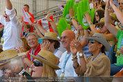 Beachvolleyball VIPs - Centrecourt Klagenfurt - Sa 02.08.2014 - Otto und Shirley RETZER, Peter KAISER, Gerald KLUG6