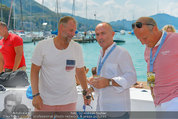 Beachvolleyball VIPs - Centrecourt Klagenfurt - Sa 02.08.2014 - Thomas MUSTER, Gerald KLUG62