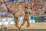 Beachvolleyball VIPs - Centrecourt Klagenfurt - Sa 02.08.2014 - Spielerinnenfoto, Actionfoto74