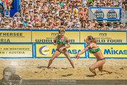 Beachvolleyball VIPs - Centrecourt Klagenfurt - Sa 02.08.2014 - Spielerinnenfoto, Actionfoto76