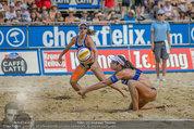 Beachvolleyball VIPs - Centrecourt Klagenfurt - Sa 02.08.2014 - Spielerinnenfoto, Actionfoto79