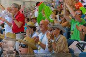 Beachvolleyball VIPs - Centrecourt Klagenfurt - Sa 02.08.2014 - Otto und Shirley RETZER, Peter KAISER, Gerald KLUG8