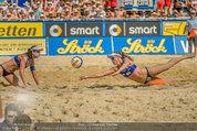 Beachvolleyball VIPs - Centrecourt Klagenfurt - Sa 02.08.2014 - Spielerinnenfoto, Actionfoto81