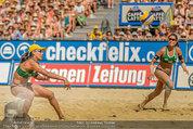 Beachvolleyball VIPs - Centrecourt Klagenfurt - Sa 02.08.2014 - Spielerinnenfoto, Actionfoto82
