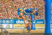 Beachvolleyball VIPs - Centrecourt Klagenfurt - Sa 02.08.2014 - Spielerinnenfoto, Actionfoto84