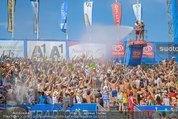 Beachvolleyball VIPs - Centrecourt Klagenfurt - Sa 02.08.2014 - Publikum in Wasserfont�nen86