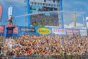 Beachvolleyball VIPs - Centrecourt Klagenfurt - Sa 02.08.2014 - Publikum in Wasserfont�nen88
