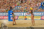 Beachvolleyball VIPs - Centrecourt Klagenfurt - Sa 02.08.2014 - Spielerinnenfoto, Actionfoto90
