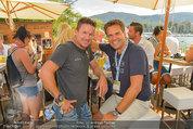 Beachvolleyball VIPs - Centrecourt Klagenfurt - Sa 02.08.2014 - Felix BAUMGARTNER, Didi TUNKEL92