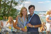 Beachvolleyball VIPs - Centrecourt Klagenfurt - So 03.08.2014 - Hubert NEUPER mit Ehefrau Claudia1