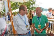 Beachvolleyball VIPs - Centrecourt Klagenfurt - So 03.08.2014 - Othmar KARAS, Gerald KLUG19