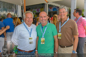 Beachvolleyball VIPs - Centrecourt Klagenfurt - So 03.08.2014 - Othmar KARAS, Gerald KLUG, Wolfgang FELLNER21
