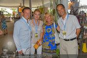 Beachvolleyball VIPs - Centrecourt Klagenfurt - So 03.08.2014 - Karl JAVUREK mit Irmgard (FORSTINGER), Romed KARRE22