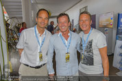 Beachvolleyball VIPs - Centrecourt Klagenfurt - So 03.08.2014 - Karl JAVUREK, Romed KARRE, Manfred DENNER24