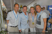 Beachvolleyball VIPs - Centrecourt Klagenfurt - So 03.08.2014 - Karl JAVUREK, Romed KARRE, Manfred DENNER25