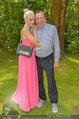 Beachvolleyball VIPs - Centrecourt Klagenfurt - So 03.08.2014 - Richard LUGNER, Spatzi Crazy Cathy SCHMITZ29