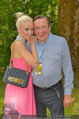 Beachvolleyball VIPs - Centrecourt Klagenfurt - So 03.08.2014 - Richard LUGNER, Spatzi Crazy Cathy SCHMITZ30