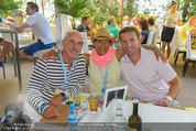 Beachvolleyball VIPs - Centrecourt Klagenfurt - So 03.08.2014 - Otto und Shirley RETZER, Markus PROCK5