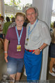 Beachvolleyball VIPs - Centrecourt Klagenfurt - So 03.08.2014 - Othmar KARAS mit Sohn Gabriel8