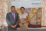 Netrebko Pressekonferenz - Hotel Sacher Salzburg - Mo 11.08.2014 - Stefan OTTRUBAY, Anna NETREBKO1