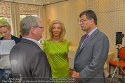 Netrebko Pressekonferenz - Hotel Sacher Salzburg - Mo 11.08.2014 - Stefan OTTRUBAY, Elisabeth HIMMER-HIRNIGEL11