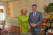 Netrebko Pressekonferenz - Hotel Sacher Salzburg - Mo 11.08.2014 - Stefan OTTRUBAY, Elisabeth HIMMER-HIRNIGEL12