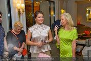 Netrebko Pressekonferenz - Hotel Sacher Salzburg - Mo 11.08.2014 - Anna NETREBKO, Elisabeth HIMMER-HIRNIGEL14