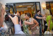 Netrebko Pressekonferenz - Hotel Sacher Salzburg - Mo 11.08.2014 - Elisabeth G�RTLER, Anna NETREBKO15