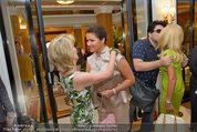 Netrebko Pressekonferenz - Hotel Sacher Salzburg - Mo 11.08.2014 - Elisabeth G�RTLER, Anna NETREBKO16