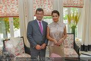 Netrebko Pressekonferenz - Hotel Sacher Salzburg - Mo 11.08.2014 - Stefan OTTRUBAY, Anna NETREBKO18