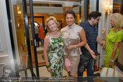 Netrebko Pressekonferenz - Hotel Sacher Salzburg - Mo 11.08.2014 - Elisabeth G�RTLER, Anna NETREBKO3