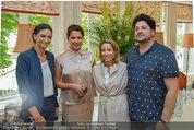 Netrebko Pressekonferenz - Hotel Sacher Salzburg - Mo 11.08.2014 - Anna NETREBKO, Ali G�RTLER, Yusif EYVAZOV30