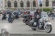 Harley Davidson Charity - Heldenplatz Wien - Mi 13.08.2014 - 1