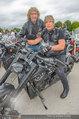 Harley Davidson Charity - Heldenplatz Wien - Mi 13.08.2014 - Dominic HEINZL, Tony REY11