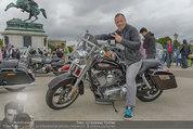 Harley Davidson Charity - Heldenplatz Wien - Mi 13.08.2014 - Alex LIST13