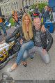 Harley Davidson Charity - Heldenplatz Wien - Mi 13.08.2014 - Yvonne RUEFF, Alex LIST19