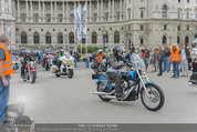 Harley Davidson Charity - Heldenplatz Wien - Mi 13.08.2014 - 3