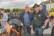 Harley Davidson Charity - Heldenplatz Wien - Mi 13.08.2014 - Wolfgang B�CK, Ferdinand FISCHER32
