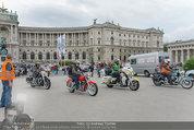 Harley Davidson Charity - Heldenplatz Wien - Mi 13.08.2014 - 4